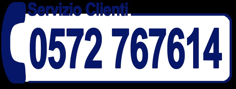 Servizio Clienti 0572 767614